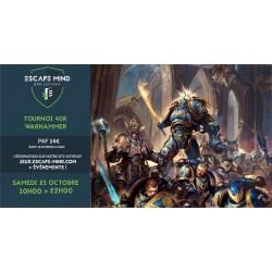 Tournoi 40 K Warhammer